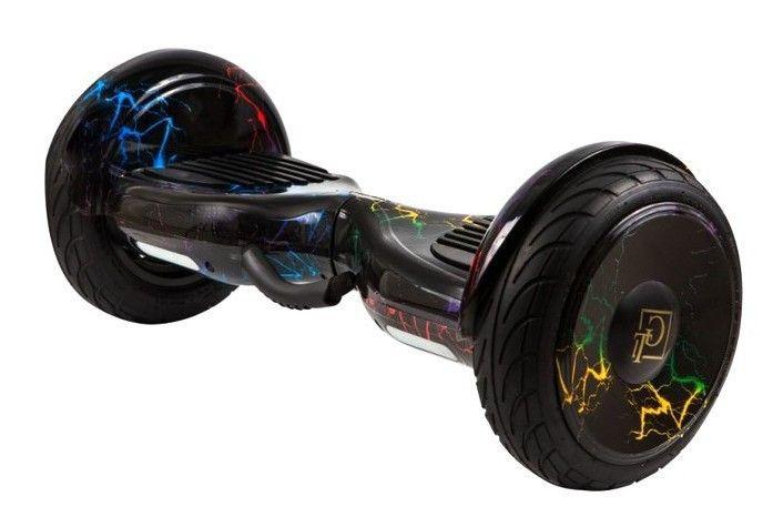 Гироскутер GT Smart Wheel 10,5 Самобаланс + App Цветная Молния