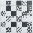 R-322. Мозаика чешуйки  серия RUSTIC, размер, мм: 306*306*5 (NS Mosaic)