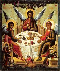 Икона Троица (14 век)