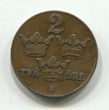2 эре 1926 года Швеция