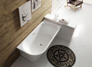 Ванна акриловая отдельностоящая BELBAGNO 150x78 BB410-1500-780-L
