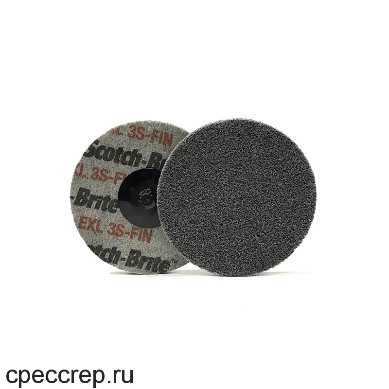 Быстросъёмный нетканый прессованный круг ROXPRO 50х6мм, 6A, Medium