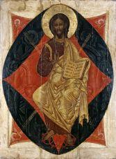 Икона Спас в Силах (Лондонский музей)