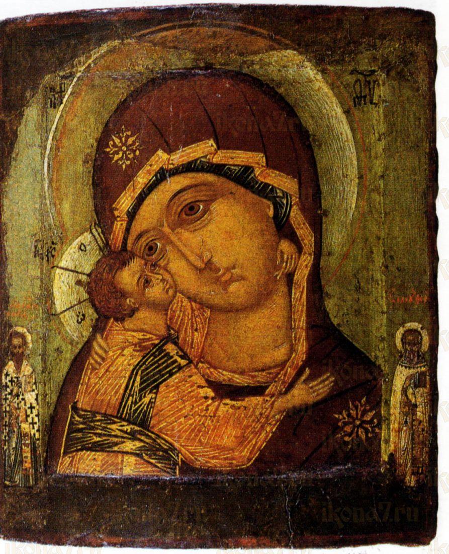 Икона Игоревская Божия Матерь (музей Рублева)