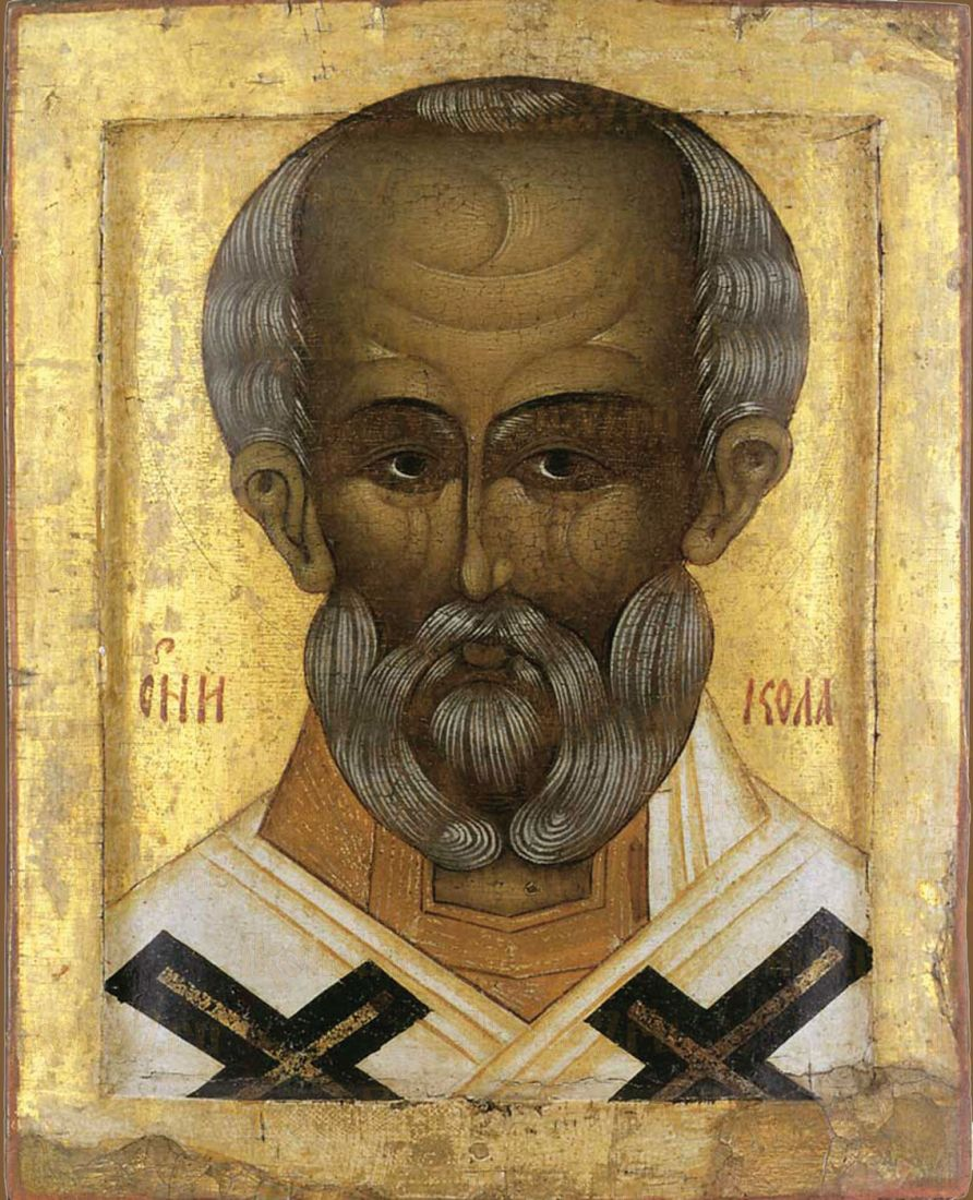 Икона Николай Чудотворец 16 век