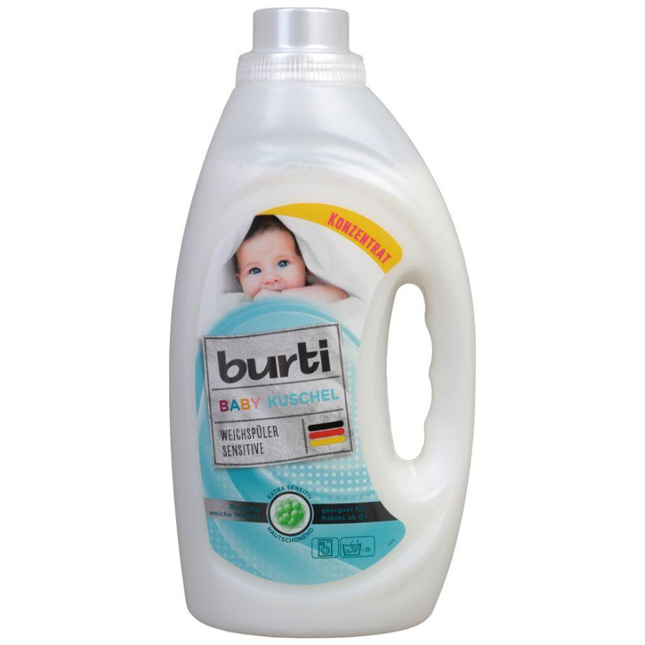 Burti Baby Kushel Ополаскиватель для детского белья 1,45 л