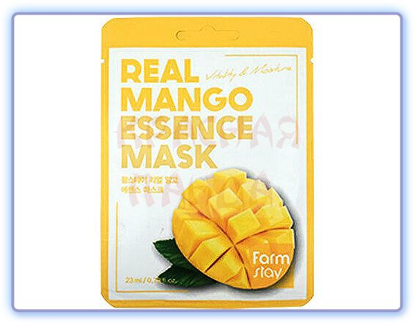 Маска для лица с экстрактом манго FarmStay Real Mango Essence Mask