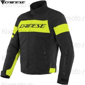 Мотокуртка Dainese Saetta D-Dry, Черно-желтая