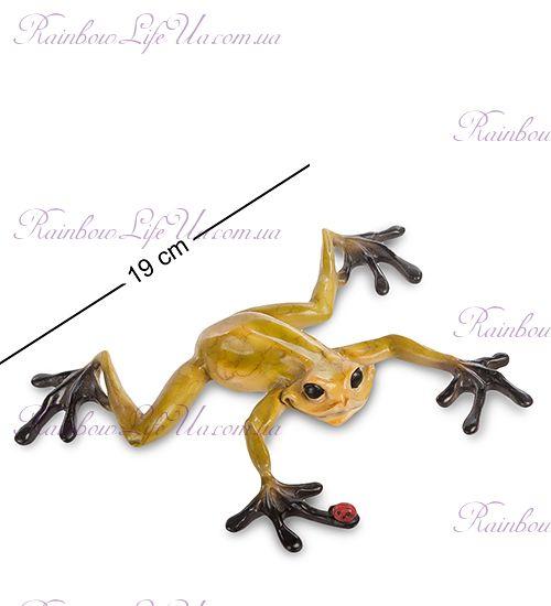 """Фигурка желтая лягушка """"ED"""""""