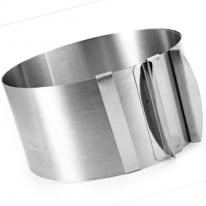 Раздвижное кольцо для выпечки, 16-30 см
