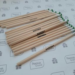 карандаши с логотипом