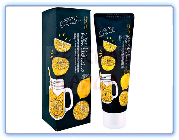 Очищающая пенка с витамином C 3W Clinic Foam Cleansing Vitamin C