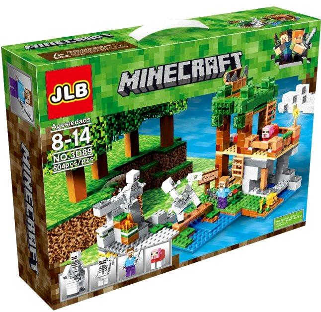 Конструктор JLB Minecraft 3D89 Нападение армии скелетов