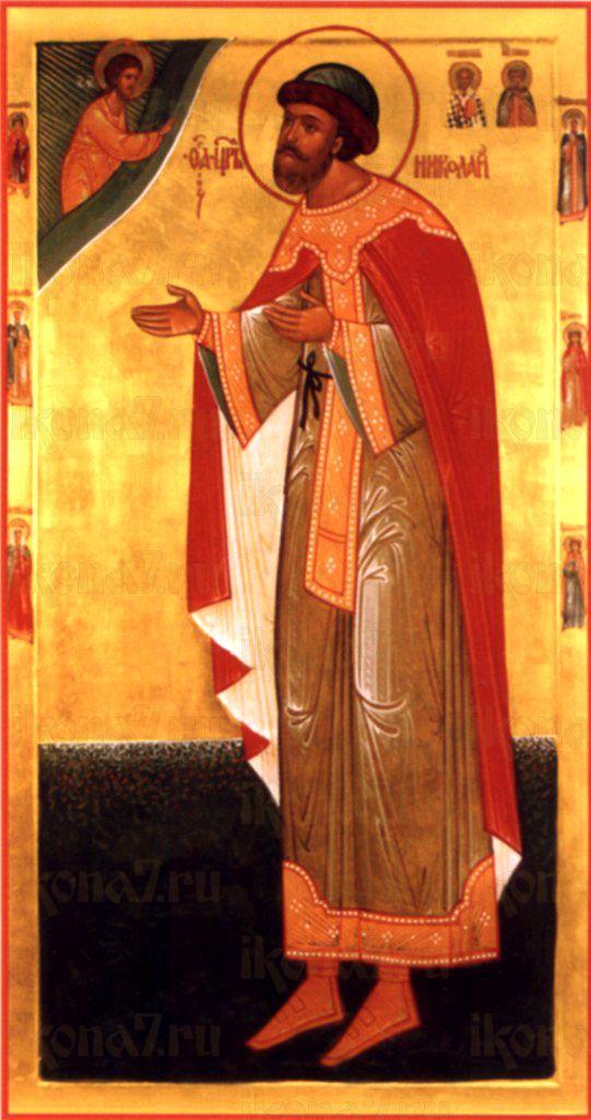 Икона Николай Бежаницкий священномученик