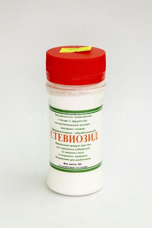Стевиозид (чистая Стевия,концентрат ) (30г)