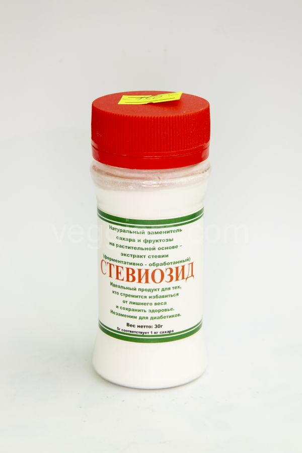 Стевиозид (чистая Стевия,концентрат),30 грамм