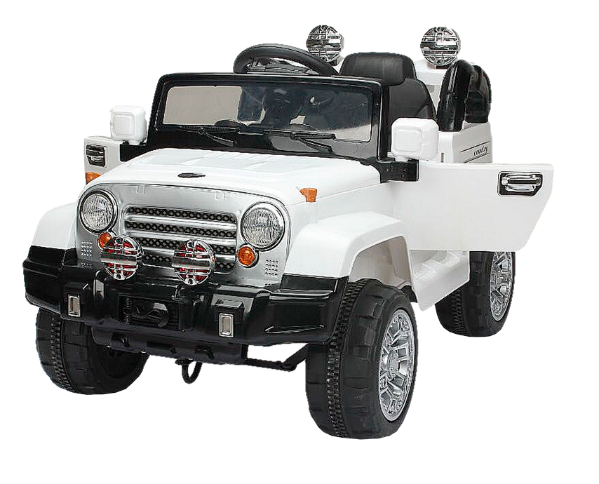 Детский электромобиль (2020) JJ245 (12V, EVA) белый