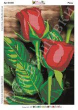В-455 Фея Вышивки. Розы. А3 (набор 1150 рублей)