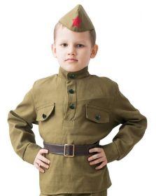 Костюм военный детский для мальчика Солдат, 3-5 лет