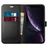 Купить чехол SGP Spigen Wallet S для iPhone XR черный: купить недорого в Москве — выгодные цены в интернет-магазине противоударных чехлов для телефонов айфон 10 R — «Elite-Case.ru»