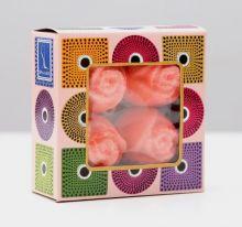 "Набор бурлящих шаров для ванны Spa by Lara ""Роза"", 160 г"
