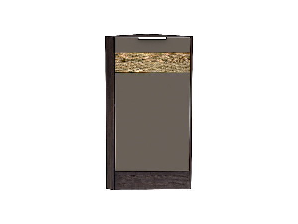 Шкаф нижний торцевой Терра НТ300 D (Смоки софт)