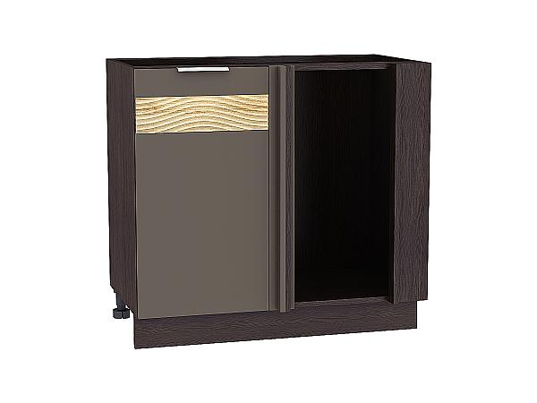Шкаф нижний угловой Терра НУ990 D (Смоки софт)