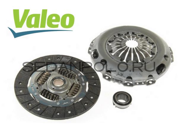 Комплект сцепления VALEO (FRANCE) для Volkswagen Polo Sedan / Rapid 1.6
