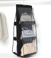 Органайзер для сумок Hanging Purse Organizer (цвет чёрный)_2