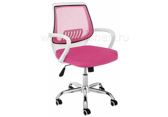 Компьютерное кресло Ergoplus белое / розовое