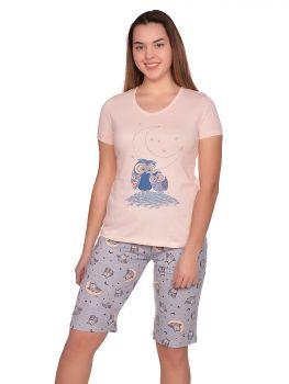 "Комплект женский ""МИРАНДА""  (футболка, бриджи) №МН150"