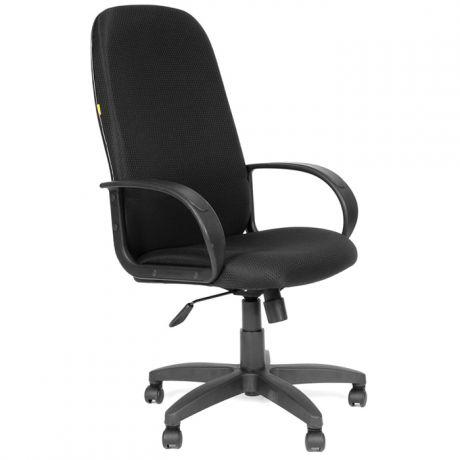 Кресло руководителя Chairman 279 PL, ткань JP черная, механизм качания