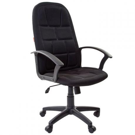 Кресло руководителя Chairman 737 PL, TW-11 ткань черная, механизм качания