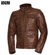 Куртка IXS Classic LD Nick кожаная, Коричневая