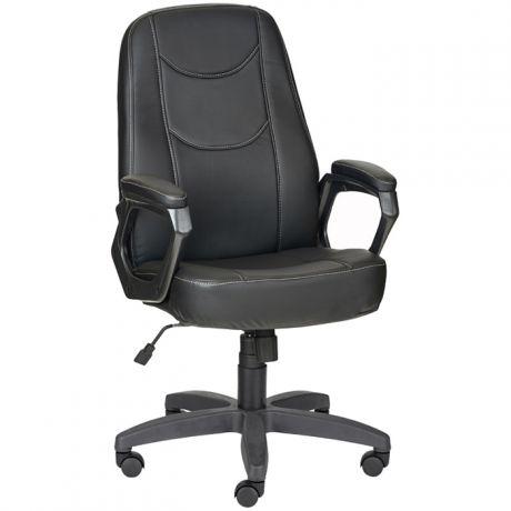 """Кресло руководителя Olss """"Амиго"""" 511, кожзам черный, механизм качания"""