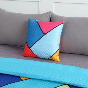Подушка декоративная Экономь и Я «Волны» 40?40 см, 100% полиэстер