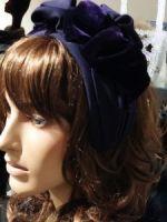 Фиолетовый ободок купить в Москве фото