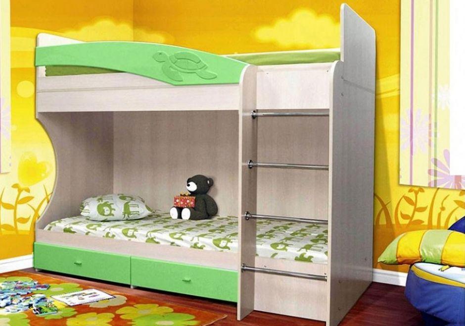 Кровать двухъярусная Адель-1