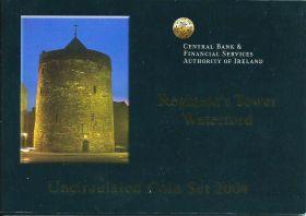 Официальный набор евро-монет Ирландия 2004