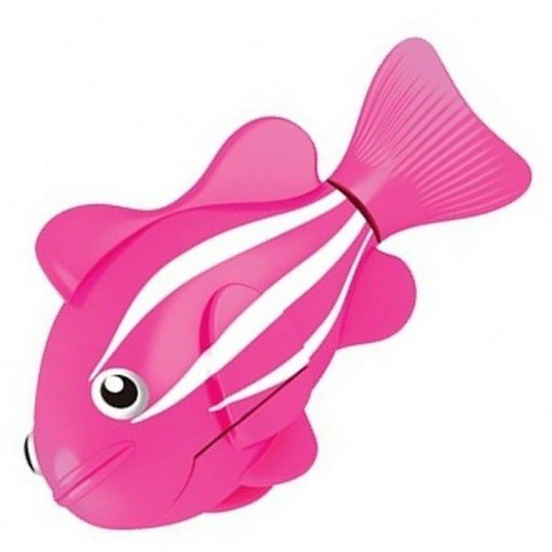 Интерактивная игрушка Роборыбка Клоун (Robo Fish), розовая