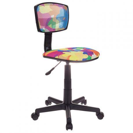 Кресло детское Бюрократ CH-299/ABSTRACT спинка сетка мультиколор, без подлокотников