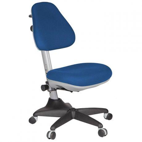 Кресло детское Бюрократ KD-2, PL, ткань синяя, механизм качания, без подлокотников