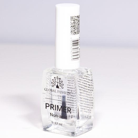 Безкислотный праймер для ногтей, Primer NON- Acid Global Fashion 12 ml 8112