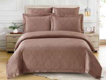Постельное белье Soft cotton Лен- жаккард 2-спальный Арт.21/023-SC