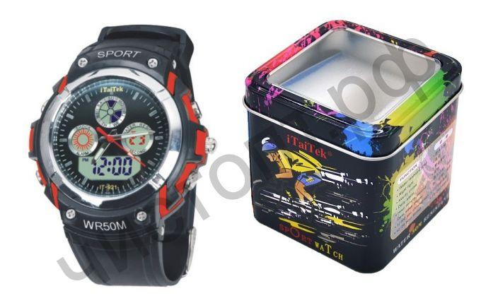 Часы наручные iTaiTek IT-921 двойное время