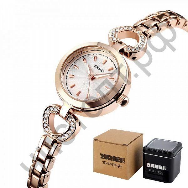 Часы наручные Skmei 1408 золото Высокое качество Водонепроницаемые !