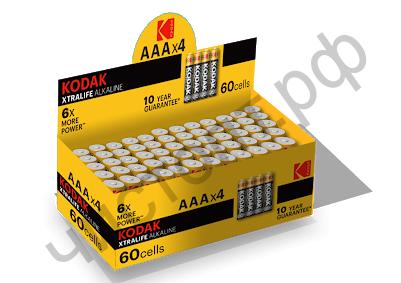 KODAK LR03 XTRALIFE (4SP) colour box (60)