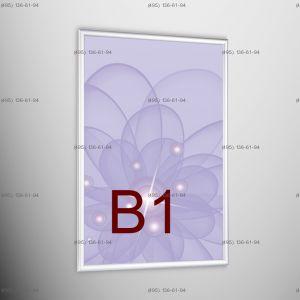 Световая панель Frame LED Framelight Classic (фреймлайт), односторонняя, формат B1, 700х1000 мм
