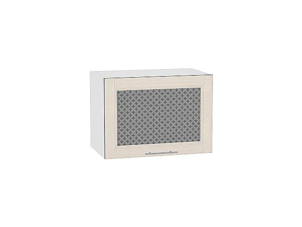 Шкаф верхний Сканди ВГ500 со стеклом Cappuccino Softwood