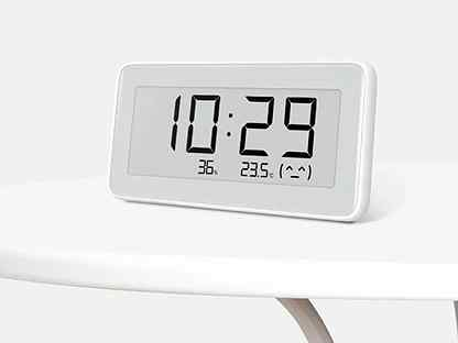 ЧАСЫ-ГИГРОМЕТР XIAOMI MIJIA BT4.0 WIRELESS SMART ELECTRIC DIGITAL CLOCK